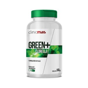 Green+ Clorella CHÁ MAIS 500mg 100 Cápsulas