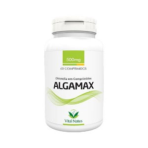 Algamax (Chlorella) VITAL NATUS 500mg 60 Comprimidos