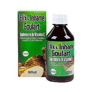Elix & Inhame (Elixir de Inhame) Goulart POLY FLORA (com Vitamina C) 250ml