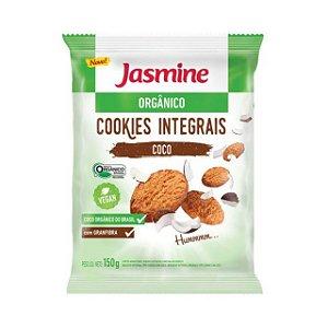 Cookies Integrais de Coco Orgânico JASMINE 150g