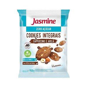 Cookies Integrais de Cappuccino e Avelã JASMINE Zero Açúcar 150g