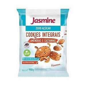 Cookies Integrais de Amêndoas e Castanhas JASMINE Zero Açúcar 150g