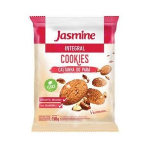 Cookies Integrais de Castanha do Pará JASMINE 150g