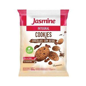 Cookies Integrais de Chocolate com Gotas JASMINE 150g