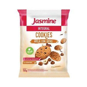 Cookies Integrais de Avelã com Gotas JASMINE 150g