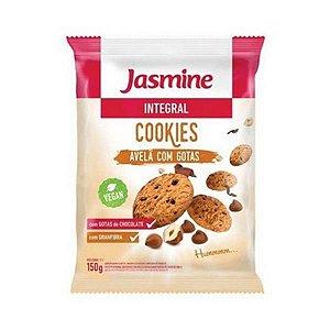 Cookies Integrais de Avelã com Gotas de Chocolate JASMINE 150g