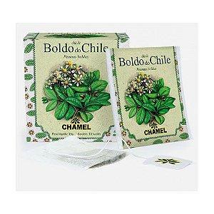 Chá de Boldo do Chile em Sachê CHAMEL 10 Unidades