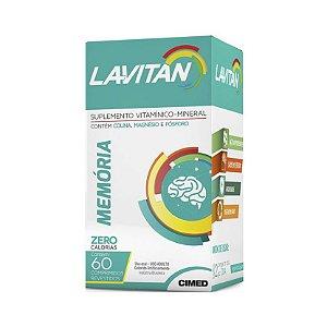 Lavitan Memória CIMED 60 Comprimidos