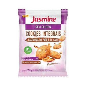 Cookies Integrais de Castanha do Pará e Caju  JASMINE Sem Glúten 150g