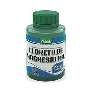 Cloreto de Magnésio P.A. VITALAB 500mg 60 Cápsulas