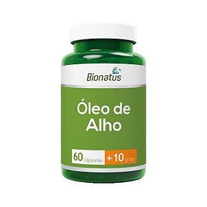 Óleo de Alho BIONATUS 60 Cápsulas (+10 Grátis)