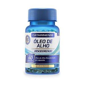 Óleo de Alho Desodorizado CATARINENSE 60 Cápsulas