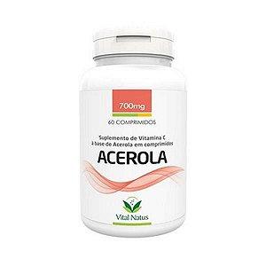 Acerola VITAL NATUS 700mg 60 Comprimidos