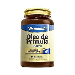 Óleo de Prímula VITAMINLIFE 500mg 100 Cápsulas