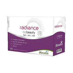 Radiance Biobeauty (Colágeno + Semente de Uva + A + E + C + Biotina) BIONATUS 60 Cápsulas