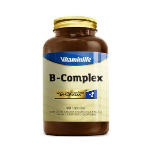 B-Complex (Complexo B) VITAMINLIFE 90 Cápsulas