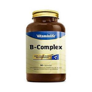 B-Complex (Complexo B) 90 Cápsulas VITAMINLIFE