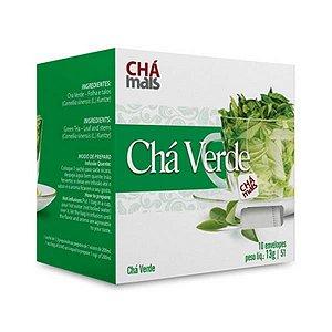 Chá Verde CHÁ MAIS 10 Sachês