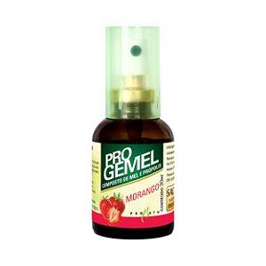 Progemel Spray de Própolis Mel e Morango PRONATU 30ml