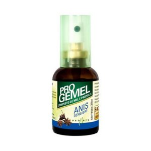 Progemel Spray de Própolis Mel Anis Gengibre PRONATU 30ml