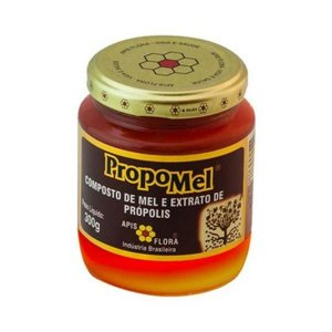 PropoMel Composto de Mel e Extrato de Própolis APIS FLORA 300g