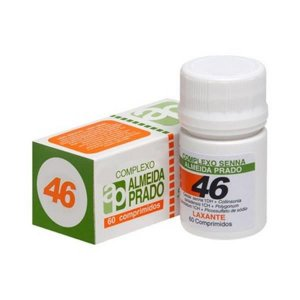 Complexo Homeopático Nº 46 (Prisão de Ventre-Laxante) ALMEIDA PRADO 60 Comprimidos