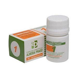 Complexo Homeopático Nº 1 ALMEIDA PRADO (Enxaqueca) 60 Comprimidos