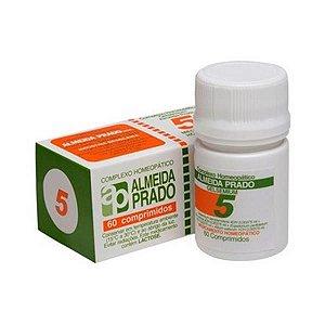 Complexo Homeopático Nº 5 ALMEIDA PRADO (Gripe) 60 Comprimidos