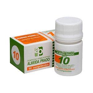 Complexo Homeopático Nº 10 ALMEIDA PRADO (Bronquite) 60 Comprimidos