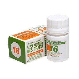 Complexo Homeopático Nº 16 ALMEIDA PRADO (Cistite) 60 Comprimidos