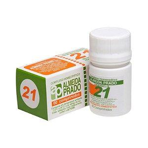 Complexo Homeopático Nº 21 ALMEIDA PRADO 60 Comprimidos