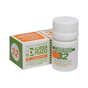 Complexo Homeopático Nº 32 ALMEIDA PRADO (Reumatismo) 60 Comprimidos
