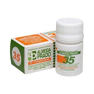 Complexo Homeopático Nº 35 ALMEIDA PRADO 60 Comprimidos