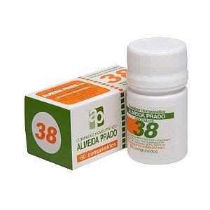 Complexo Homeopático Nº 38 ALMEIDA PRADO (Enjôo-Vômitos) 60 Comprimidos