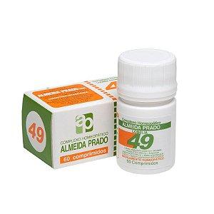 Complexo Homeopático Nº 49 ALMEIDA PRADO (Asma-Bronquite) 60 Comprimidos