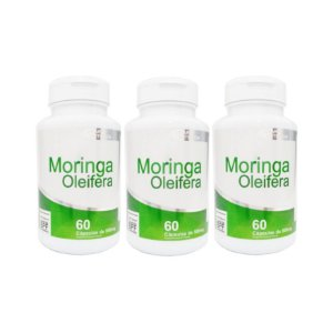 Moringa Oleifera 4 ELEMENTOS 500mg 60 Cápsulas (3 UNIDADES)
