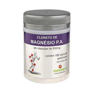 CLORETO DE MAGNESIO 120CAPS 500MG MEISSEN