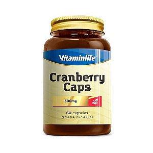 Cranberry Caps VITAMINLIFE 500mg 60 Cápsulas