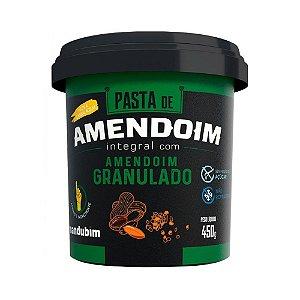 Pasta de Amendoim Integral MANDUBIM Granulado 450g