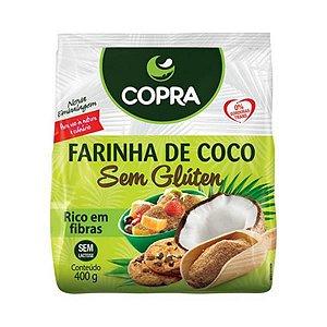 Farinha de Coco COPRA Sem Glúten 400g