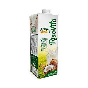 Leite Vegetal de Arroz com Coco RISOVITA 1L