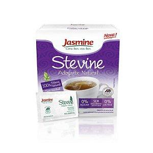 Stevine (Adoçante Natural) Zero Açucar JASMINE 40g 50 Sachês