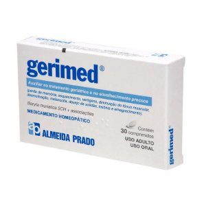 Gerimed Complexo Homeopático ALMEIDA PRADO (Geriátrico e Envelhecimento Precoce) 30 Comprimidos