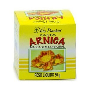 Pasta de Arnica para Massagem Corporal Vitalab (Vita Plankta) 50g