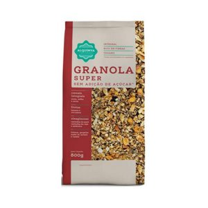 Granola ALQUIMYA Super Sem Açúcar 800g