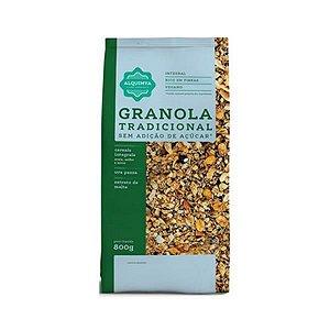 Granola ALQUIMYA Tradicional Sem Açúcar 800g