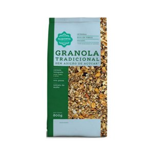 [ PROMOÇÃO ] Granola ALQUIMYA Tradicional Sem Açúcar 800g