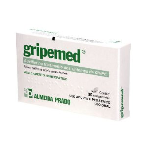 Gripemed Complexo Homeopático ALMEIDA PRADO (Sintomas da Gripe) 30 Comprimidos