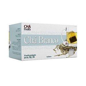 Chá Branco CHÁ MAIS com 30 Sachês