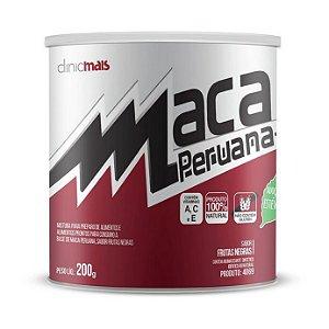 Maca Peruana Solúvel CHÁ MAIS (ClinicMais) Sabor Frutas Negras 200g